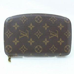 💯 Auth Louis Vuitton Zippy/ Organizer Wallet